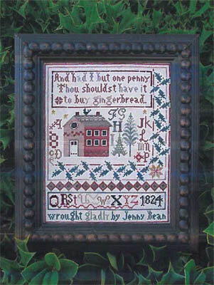 Jenny Bean's Christmas Sampler - Cross Stitch Pattern