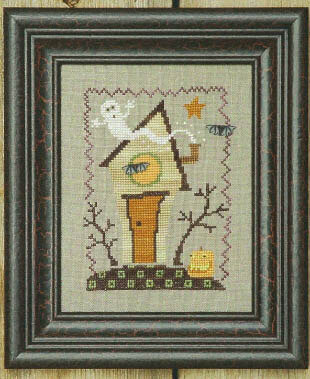 Ghostie Manor - Cross Stitch Pattern