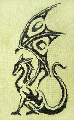Warrior - Cross Stitch Pattern