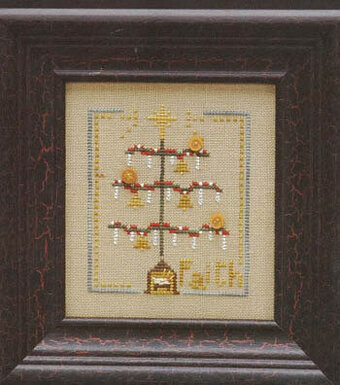 Christmas Tree Counted Cross Stitch Pattern by WooHooCrossStitch
