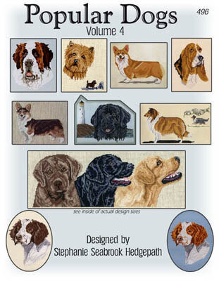 Popular Dogs Volume 4 - Cross Stitch Pattern