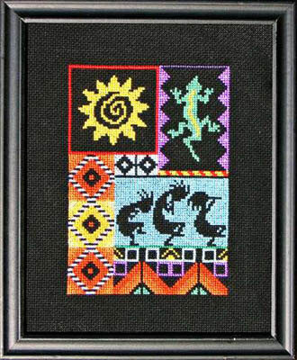 Spirits of the Southwest - Cross Stitch Pattern