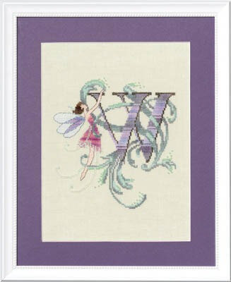 Letters From Nora - W - Cross Stitch Pattern