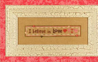 Believe in Love (Wee One) - Cross Stitch Pattern