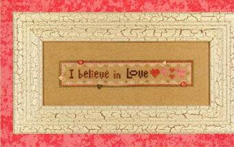 Believe in Love (Wee One) - Cross Stitch Pattern