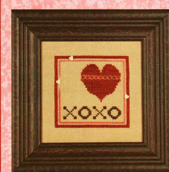 XoXo (Wee One) - Cross Stitch Pattern