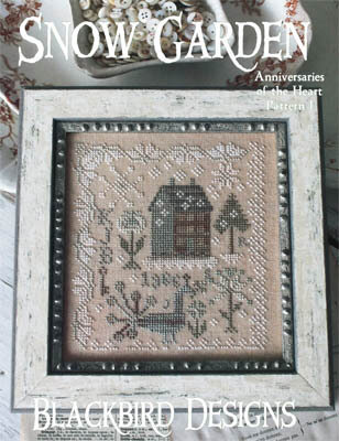 Anniversaries of the Heart 1 - Snow Garden - Cross Stitch