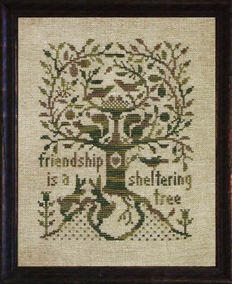 Sheltering Tree, A - Cross Stitch Pattern
