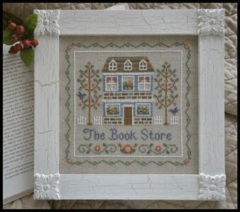 Bookstore, The - Cross Stitch Pattern