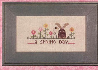 Wee One: A Spring Day - Cross Stitch Pattern