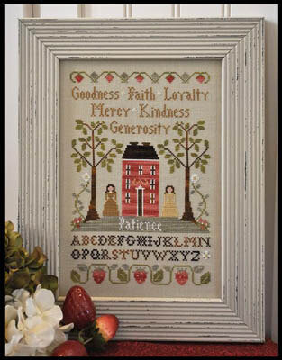 Virtue Sampler - Cross Stitch Pattern