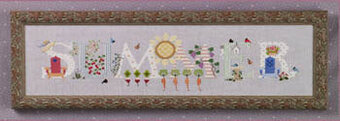 Summer - Cross Stitch Pattern