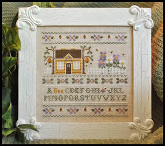 A Bee C Sampler - Cross Stitch Pattern