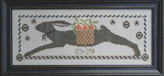 Totin' Hare, The - Cross Stitch Pattern