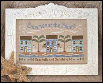 Summer At The Shore - Cross Stitch Pattern