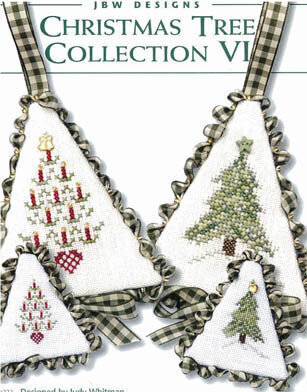 Christmas Tree Collection VI - Cross Stitch Pattern