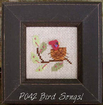 Our House Pearls - Bird Songs - Cross Stitch Pattern
