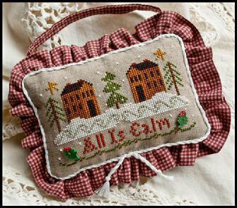 Ornament 11 - All is Calm - Cross Stitch Pattern