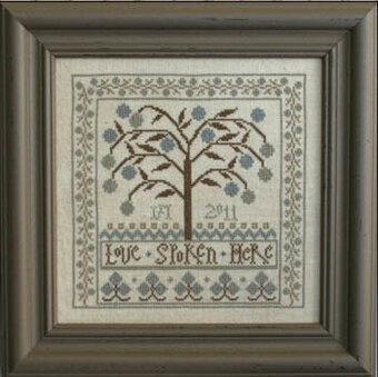 Love Spoken Here - Cross Stitch Pattern