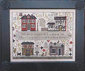 Jenny Bean Friendship Sampler - Cross Stitch Pattern