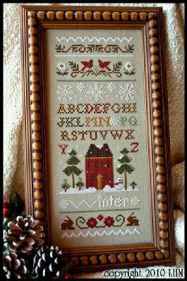 Winter Band Sampler - Cross Stitch Pattern