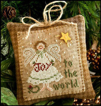 Ornament 12 - Joy To The World - Cross Stitch Pattern