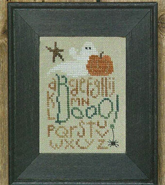 Booo! - Cross Stitch Pattern