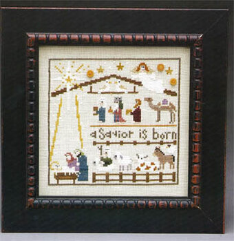 Nativity Lineup - Cross Stitch Pattern