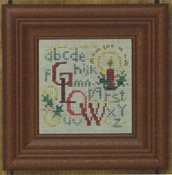Glow - Cross Stitch Pattern