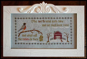 North Wind, The - Cross Stitch Pattern