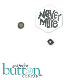 Squareology Scareology - Never More - Buttons