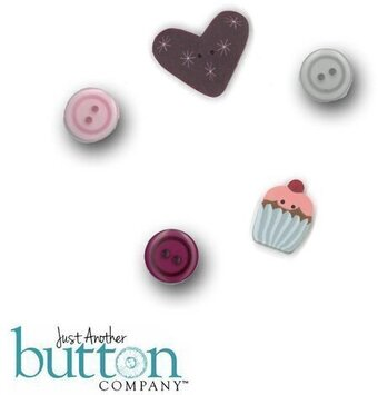 Well Hello There February - Button Pack