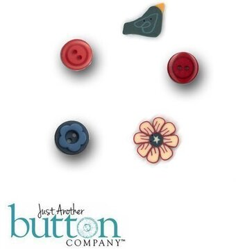 Well Hello There July - Button Pack