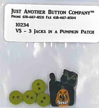 3 Jacks in a Pumpkin Patch - Button Pack