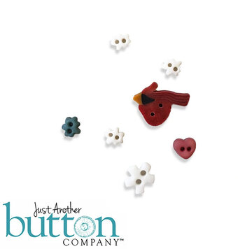Winter Notes - Buttons