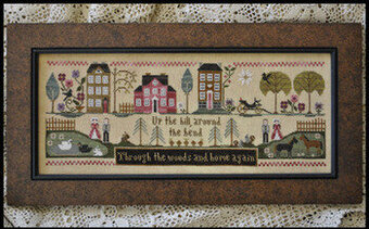 Hillside Travelers - Cross Stitch Pattern
