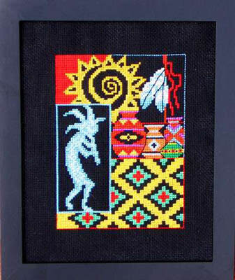 Spirit of Southwest II - Cross Stitch Pattern