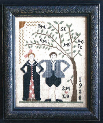 Wed to Thee - Cross Stitch Pattern