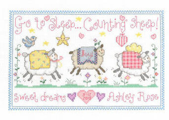 Counting Sheep - Cross Stitch Pattern
