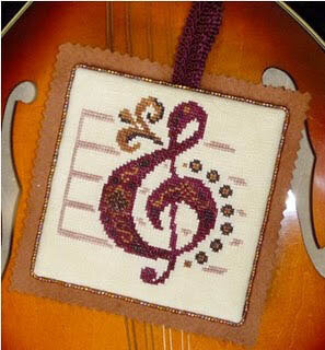 Here Comes Treble - Cross Stitch Pattern