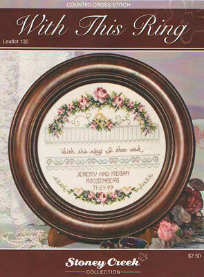 With this Ring - Cross Stitch Pattern