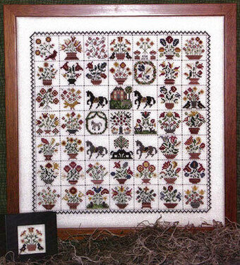 Emily Munroe Quilt - Cross Stitch Pattern