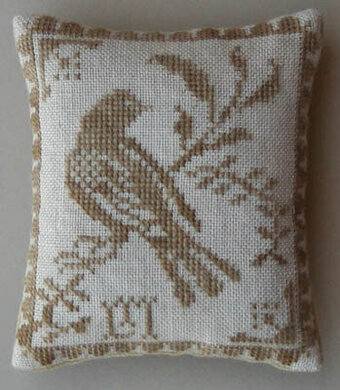 Yellow Bird - Cross Stitch Pattern
