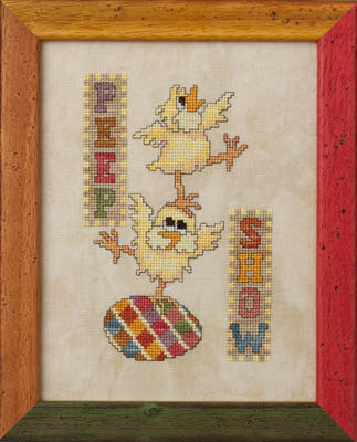 Peep Show - Cross Stitch Pattern