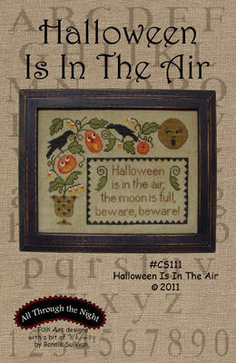 Halloween is in the Air - Cross Stitch Pattern