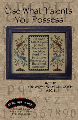 Use What Talents - Cross Stitch Pattern