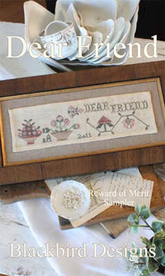 Dear Friend - Cross Stitch Pattern