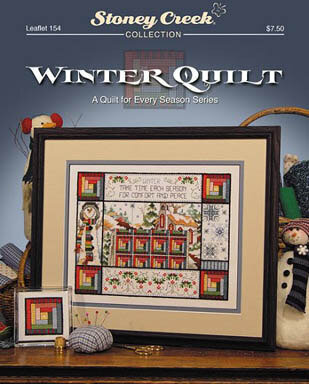 Winter Quilt - Cross Stitch Pattern