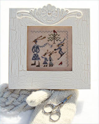 Hares Winter - Cross Stitch Pattern