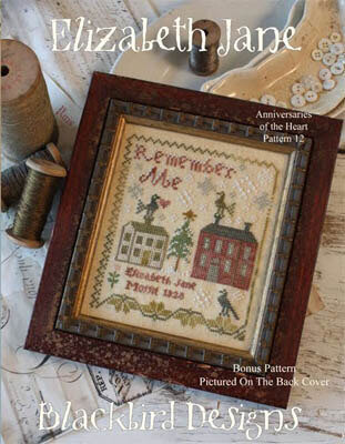 Elizabeth Jane Anniversaries of the Heart 12 - Cross Stitch
